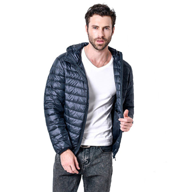 White Duck Down Jacket Men