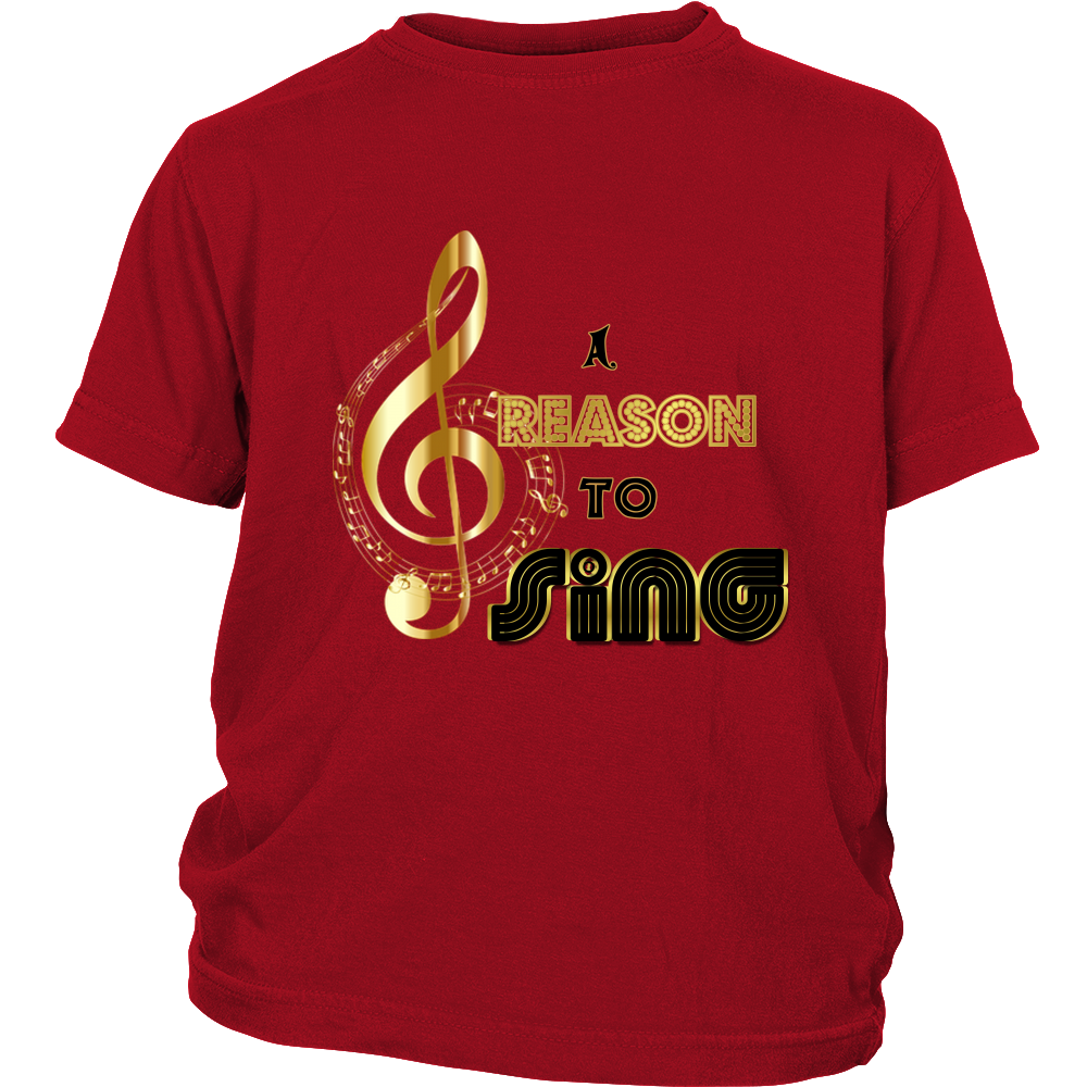 A Reason to Sing Youth Short Sleeve T-Shirt