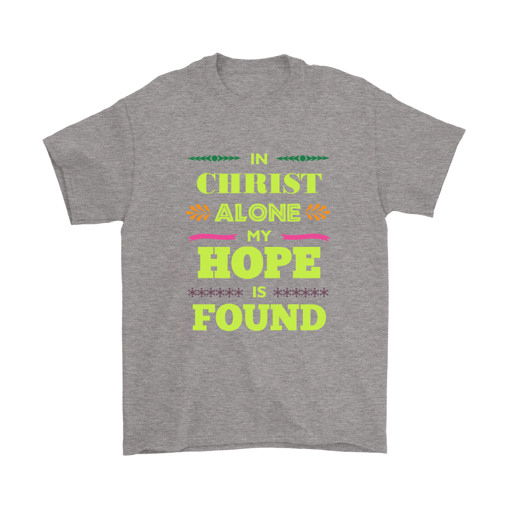 In Christ Alone Men's T-Shirt