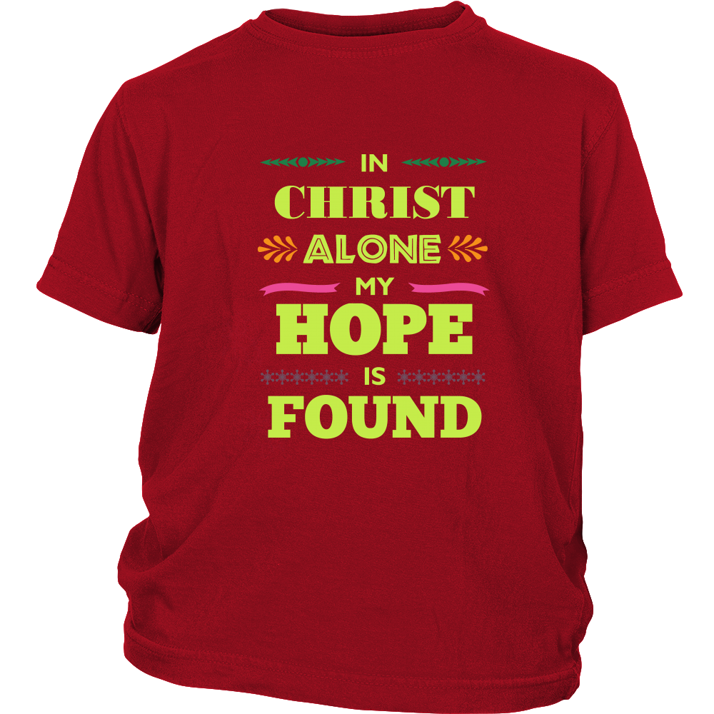 In Christ Alone Short sleeve t-shirt