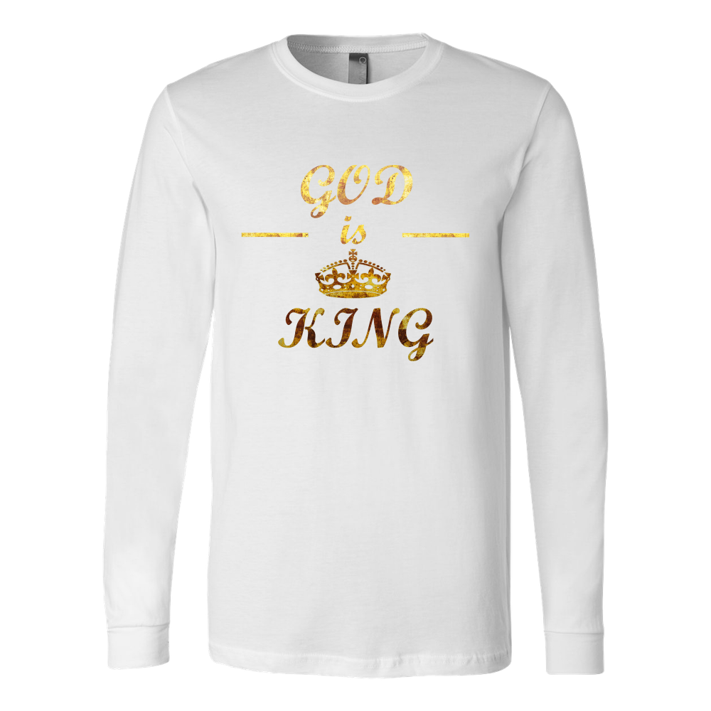 God is King Men's Long Sleeve