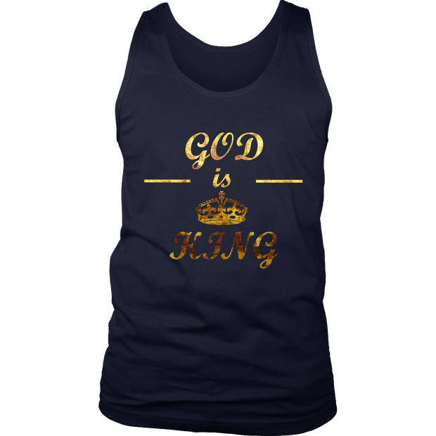 God is King Men's Tank Top