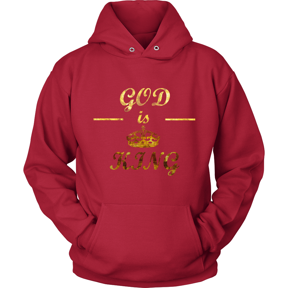 God is King Unisex Hooded Sweatshirt