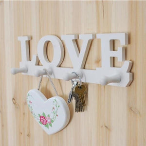 LOVE Wall Mounted Hanging Rack