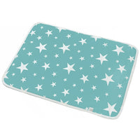 Absorbent Diaper Mat Waterproof Reusable Potty Training Mat