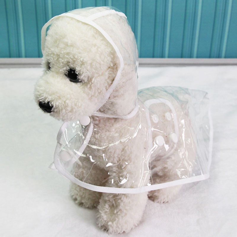 Waterproof Transparent Dog Raincoats
