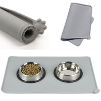 Waterproof Pet Silicone Mat For Food Bowls