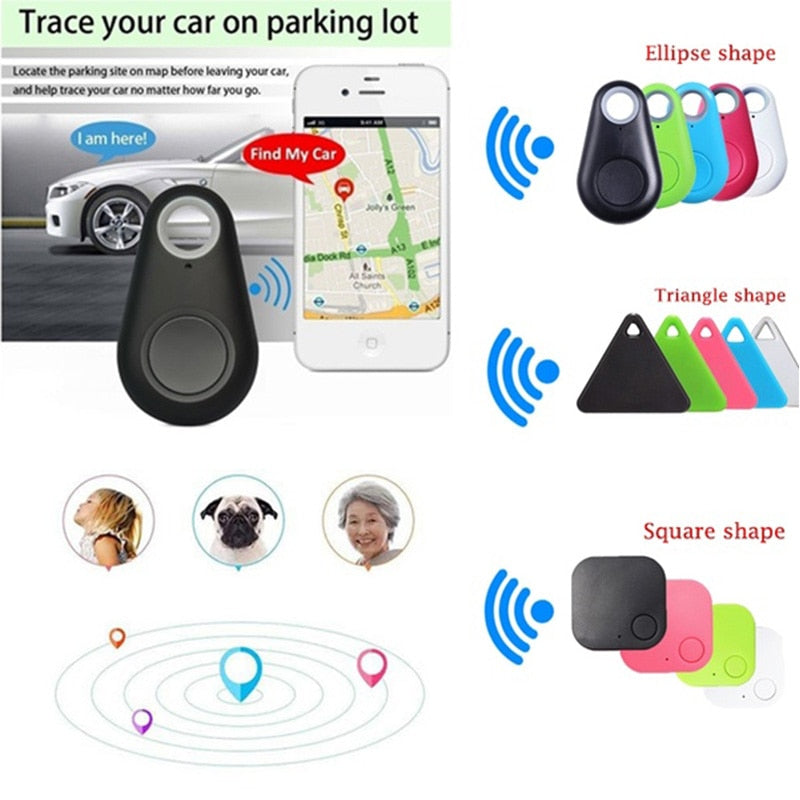 Mini Bluetooth Tracker GPS Locator Alarm