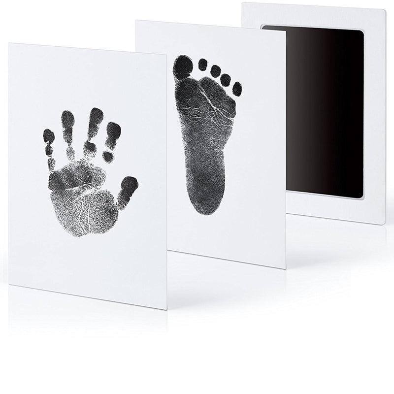 Newborn Baby Handprint Footprint Ink Non-Toxic Touch Inkless Pad