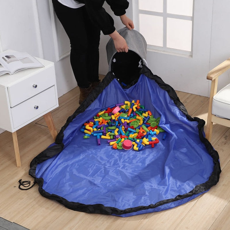 Portable Practical-Storage Toy Play-Mat