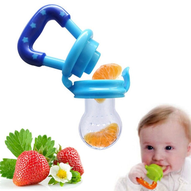 1pcs Fruits Baby Teether Nipple