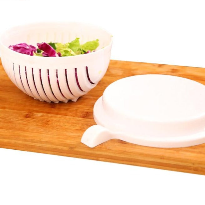 2pcs/set 60 Seconds Salad Cutting Bowl