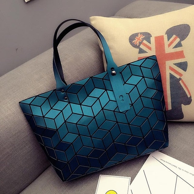Geometric Diamond Bag