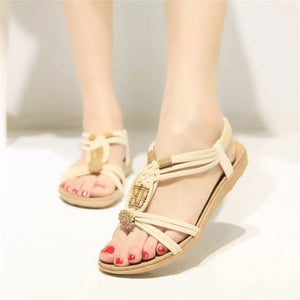Gladiator Beach Flat Casual Sandals