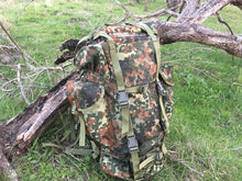 New German Flecktarn Reproduction Backpack - Blackland Prairie Survival, Supply, and Surplus