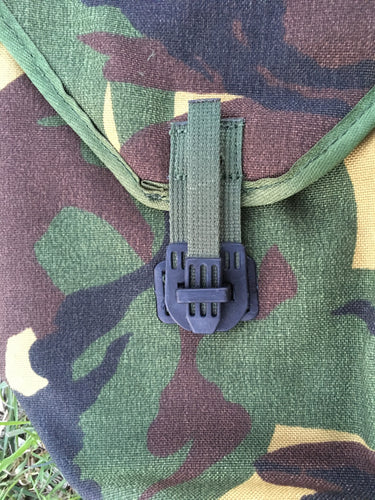 Dutch Military Issue Tri-Fold Shovel Cover - Blackland Prairie Survival, Supply, and Surplus