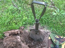 Used German Army Tri-Fold  (Entrenching Tool) Shovel - Blackland Prairie Survival, Supply, and Surplus