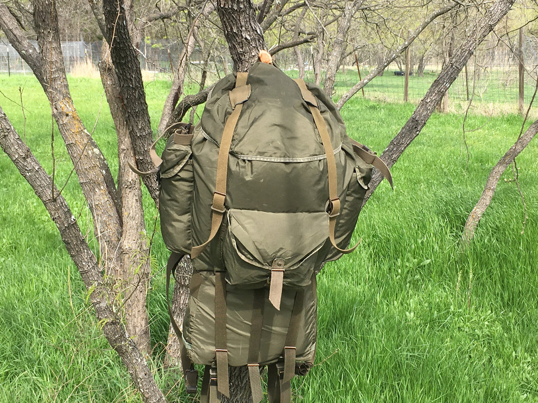 Used Austrian Army 3 piece Backpack - Blackland Prairie Survival, Supply, and Surplus