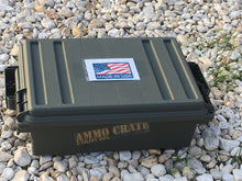 Compact Ammo crate/Utility Box- Army Green - Blackland Prairie Survival, Supply, and Surplus