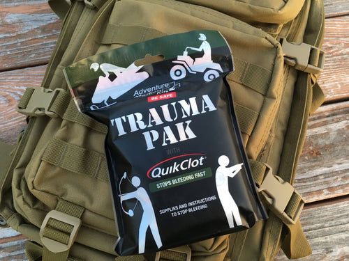 Adventure Medical Trauma Pak with QuickClot - Blackland Prairie Survival, Supply, and Surplus