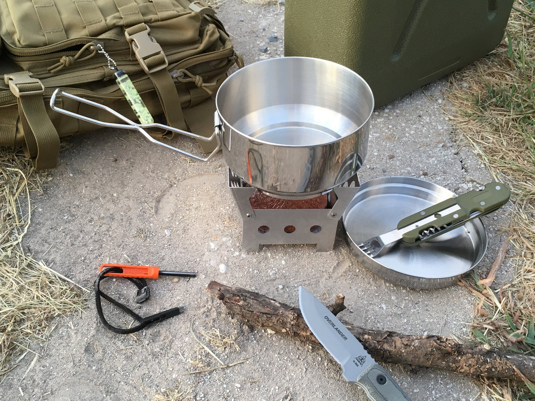 QuickStove Cook Kit - Blackland Prairie Survival, Supply, and Surplus