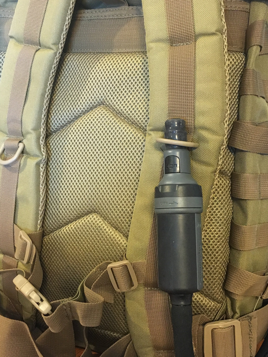 Aquamira Frontier MAX Multi-Function Filtration System- Redline - Blackland Prairie Survival, Supply, and Surplus