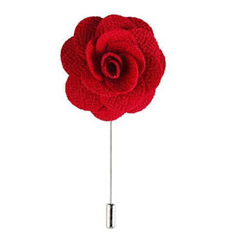 Lapel Flower Stick Brooch Pin Boutonniere Pin