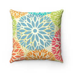 Spun Polyester Square Pillow Case