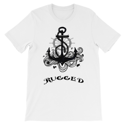 Rugged Unisex short sleeve t-shirt