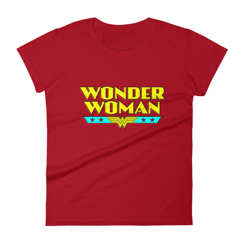 Wonder Women short sleeve t-shirt