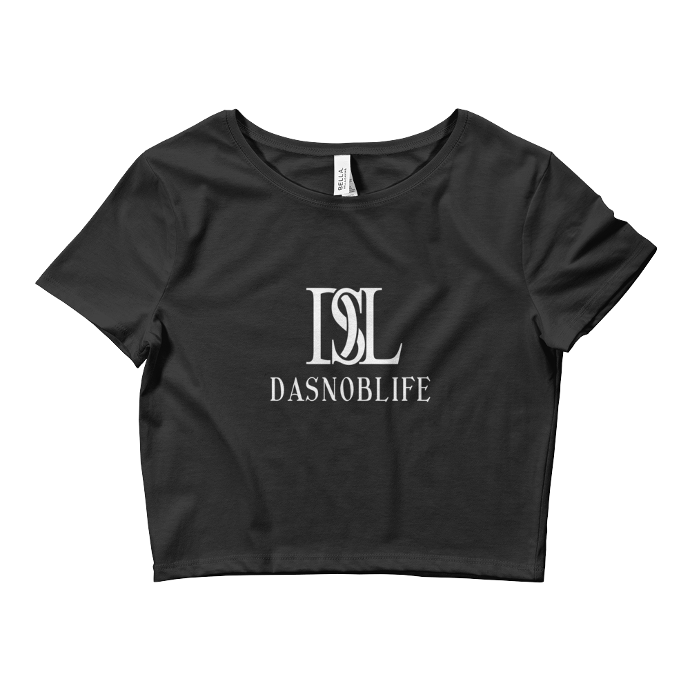 DASNOBLIFE Women's Crop Tee