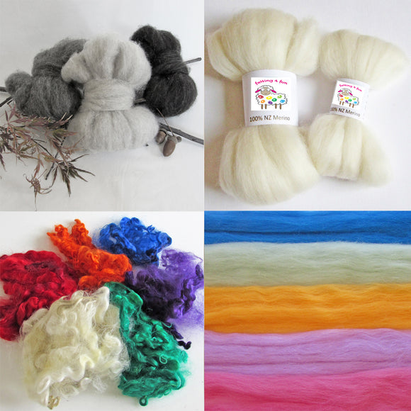 Wool Fibre - Felting Wool