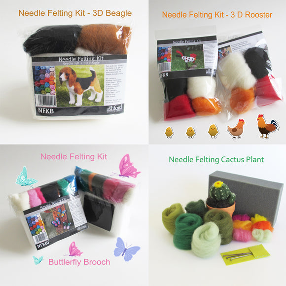 DIY NEEDLE FELTING KIT