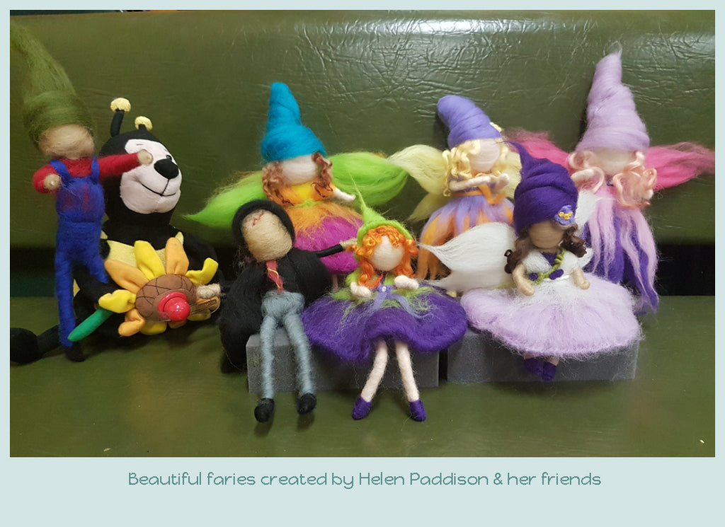Needle Felting Fairies