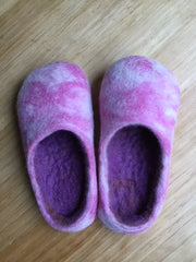 wet felting shoes