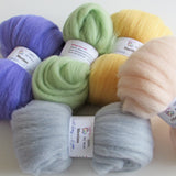 Merino Wool Sliver - 40 Colours Felting Wool 30gms from $6.00