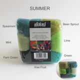 Ashford Multi Colour Wool Pack - 8 different combinations