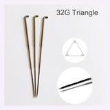 6 Felting Needles for needle felting - Triangle blade