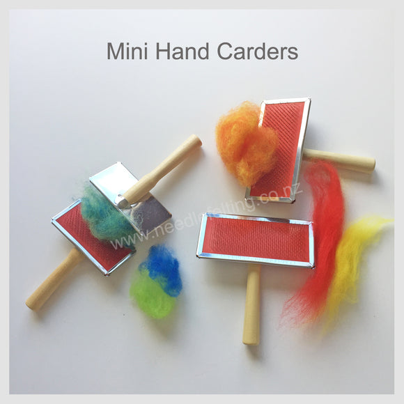 Needle Felting Tool -  Mini Hand Carders