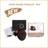 Needle Felting DIY Kit - Seal