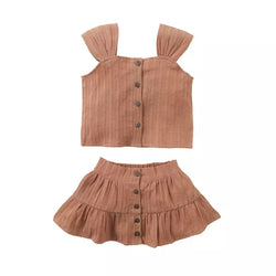 Neutral Ruffle Babe