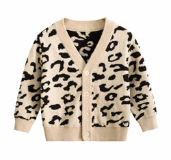 The Leopard Knit Cardigan