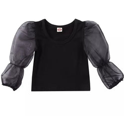 Sheer Puff - Black