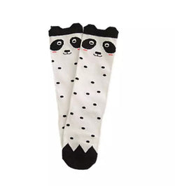 Panda Knee Highs