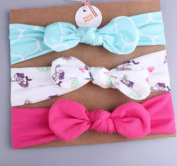 Summer Girl Knotted Head Bands - Different Prints Avaiable