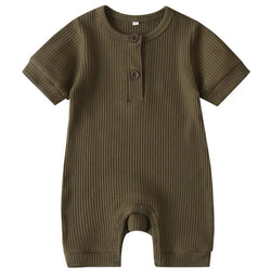 Rib Me Short Jumper - Green