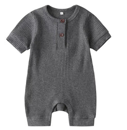 Rib Me Short Jumper - Grey