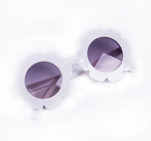 Flower Sunnies - White
