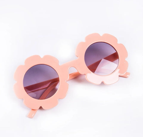 Flower Sunnies - Peach