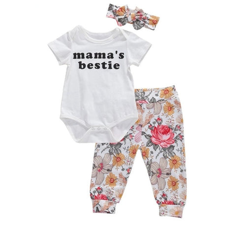 Mama's Bestie Lovely Floral
